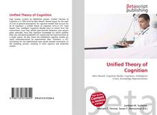 Bookcover of Unified Theory of Cognition