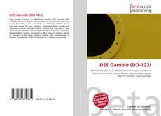 Обложка USS Gamble (DD-123)