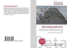 Capa do livro de USS Gatling (DD-671)