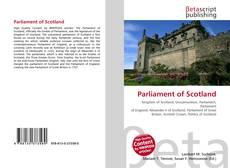 Bookcover of Parliament of Scotland