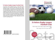 Обложка St Helens Rugby League Football Club