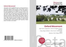 Capa do livro de Oxford Movement