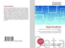 Bookcover of Royal Academy