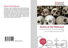 Portada del libro de Names of the Holocaust