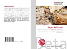 Bookcover of Paper Pollution