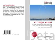Portada del libro de USS Gilligan (DE-508)