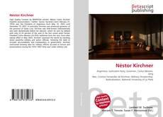Capa do livro de Néstor Kirchner
