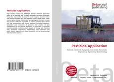Bookcover of Pesticide Application