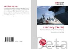 Bookcover of USS Crosby (DD-164)