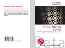 Bookcover of Systems Modeling Language