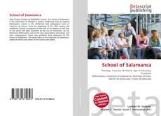 Portada del libro de School of Salamanca