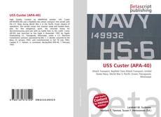 Bookcover of USS Custer (APA-40)