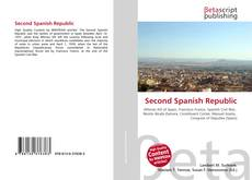 Second Spanish Republic的封面