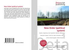 Bookcover of New Order (political system)