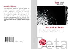 Bookcover of Snapshot Isolation