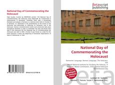 Bookcover of National Day of Commemorating the Holocaust