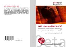 Portada del libro de USS Hansford (APA-106)