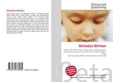 Bookcover of Nicholas Winton