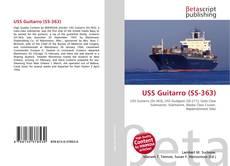 Portada del libro de USS Guitarro (SS-363)
