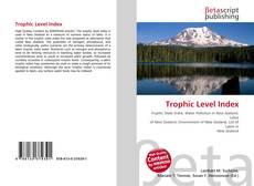 Bookcover of Trophic Level Index