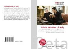 Portada del libro de Prime Minister of Italy