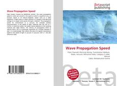 Bookcover of Wave Propagation Speed