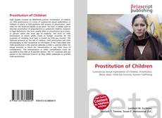 Bookcover of Prostitution of Children