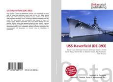 Bookcover of USS Haverfield (DE-393)