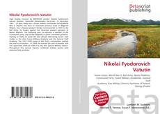 Bookcover of Nikolai Fyodorovich Vatutin