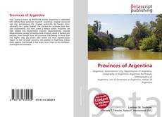 Couverture de Provinces of Argentina