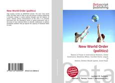 Bookcover of New World Order (politics)