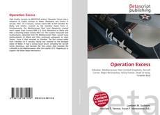 Operation Excess的封面