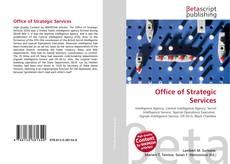 Portada del libro de Office of Strategic Services