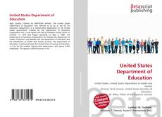 Buchcover von United States Department of Education