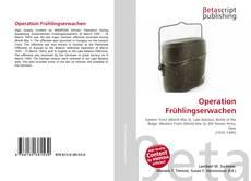 Portada del libro de Operation Frühlingserwachen