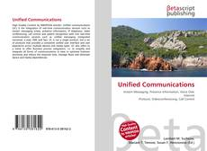 Bookcover of Unified Communications