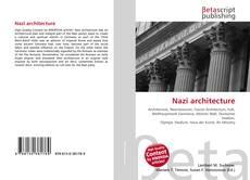 Buchcover von Nazi architecture
