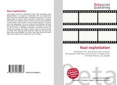 Bookcover of Nazi exploitation