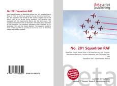 No. 281 Squadron RAF kitap kapağı