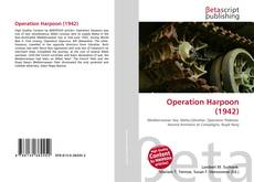 Capa do livro de Operation Harpoon (1942)
