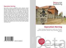 Bookcover of Operation Herring