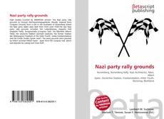 Portada del libro de Nazi party rally grounds