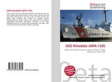 USS Hinsdale (APA-120) kitap kapağı