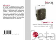 Capa do livro de Operation Ke