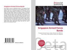 Portada del libro de Singapore Armed Forces Bands