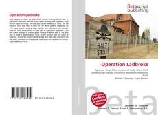 Capa do livro de Operation Ladbroke