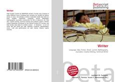 Bookcover of Writer