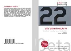 Bookcover of USS Elkhorn (AOG-7)
