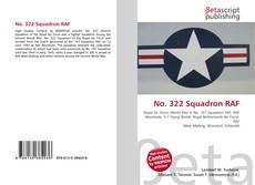 Bookcover of No. 322 Squadron RAF