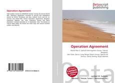 Capa do livro de Operation Agreement